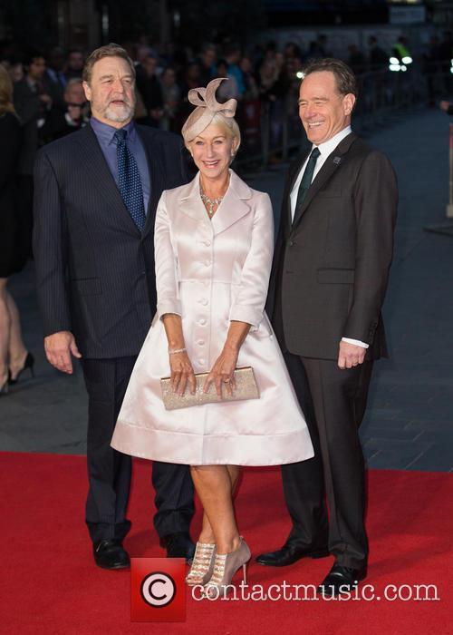 Dame Helen Mirren, John Goodman and Bryan Cranston 1