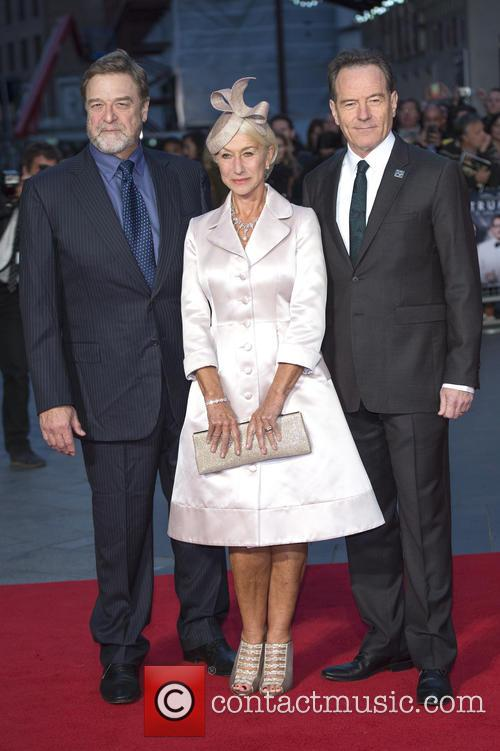 John Goodman, Dame Helen Mirren and Bryan Cranston 2