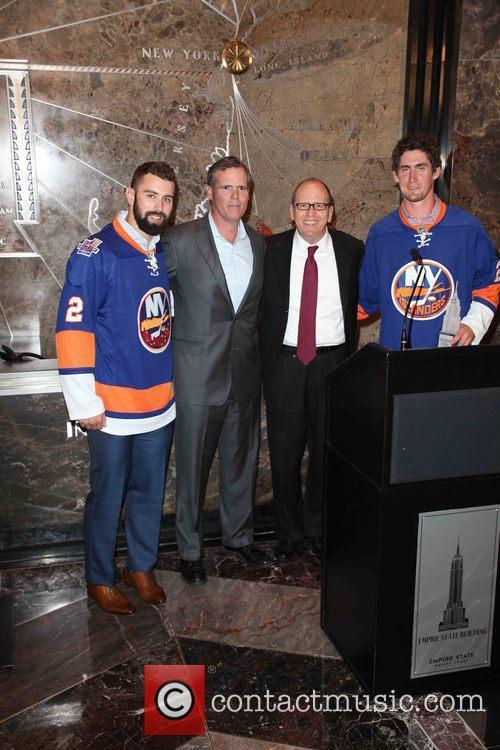 Nick Leddy, John B. Kessler, Jon Ledecky and Brock Nelson 2