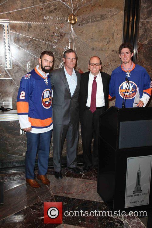 Nick Leddy, John B. Kessler, Jon Ledecky and Brock Nelson 1