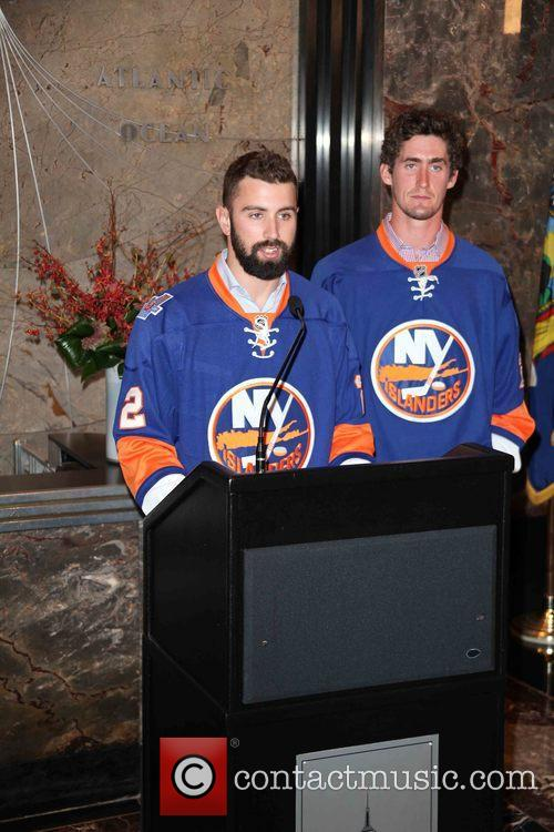 Nick Leddy and Brock Nelson 2
