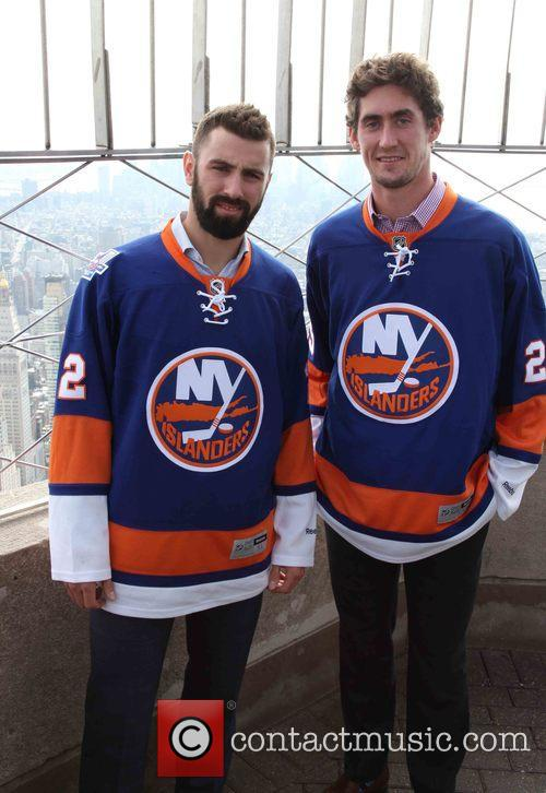 Nick Leddy and Brock Nelson 8