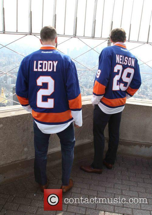 Nick Leddy and Brock Nelson 9