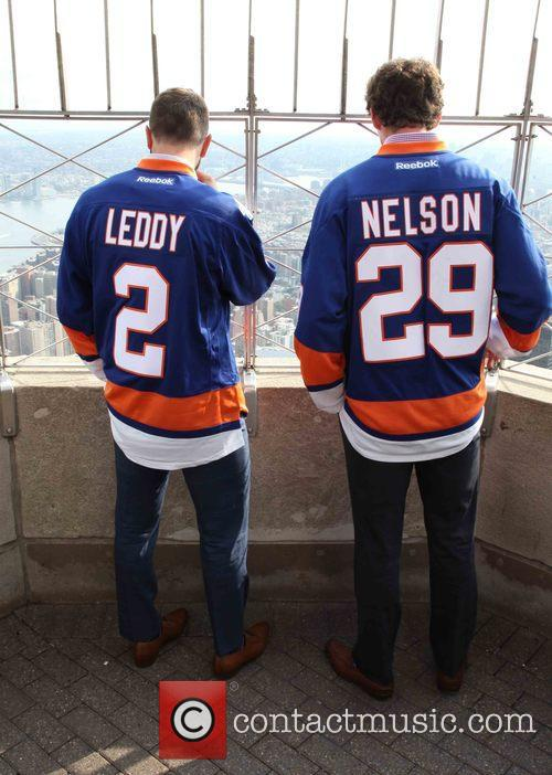 Nick Leddy and Brock Nelson 10