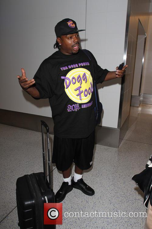 Daz Dillinger departs from Los Angeles International Airport...