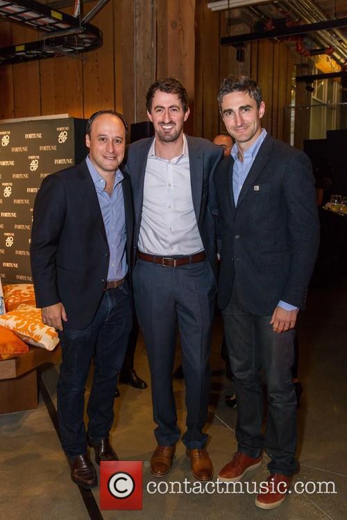 Josh Goldin, Daniel Roberts and Trevor Nelson