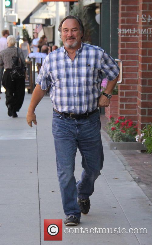 Jim Belushi out and about in Beverly Hills