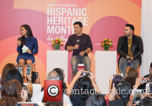 Milly Almodovar, Mario Lopez and Angel Merino 2