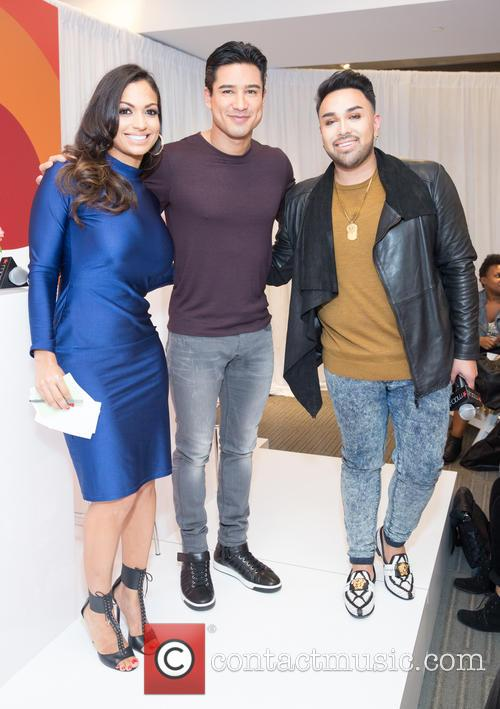 Milly Almodovar, Mario Lopez and Angel Merino 3