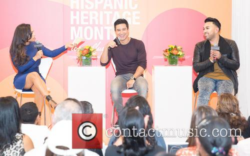 Milly Almodovar, Mario Lopez and Angel Merino 1