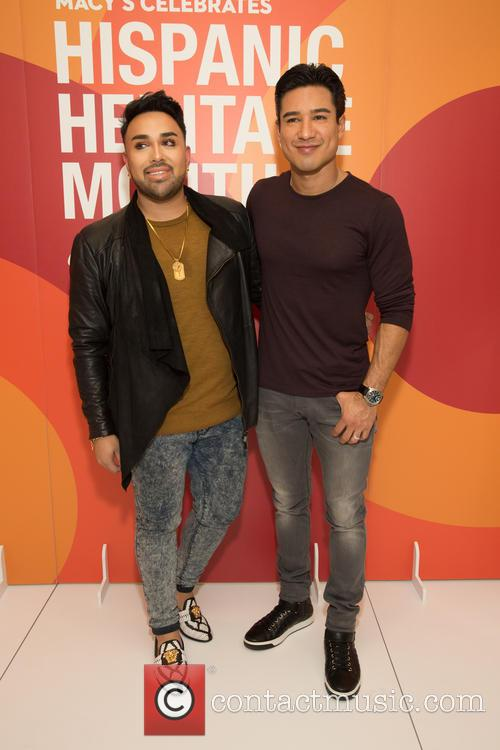Angel Merino and Mario Lopez 3