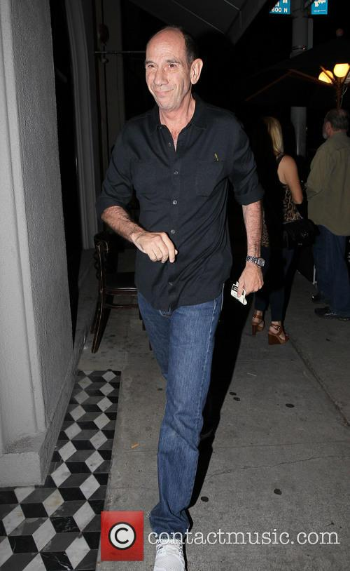 Miguel Ferrer visiting his cousin
