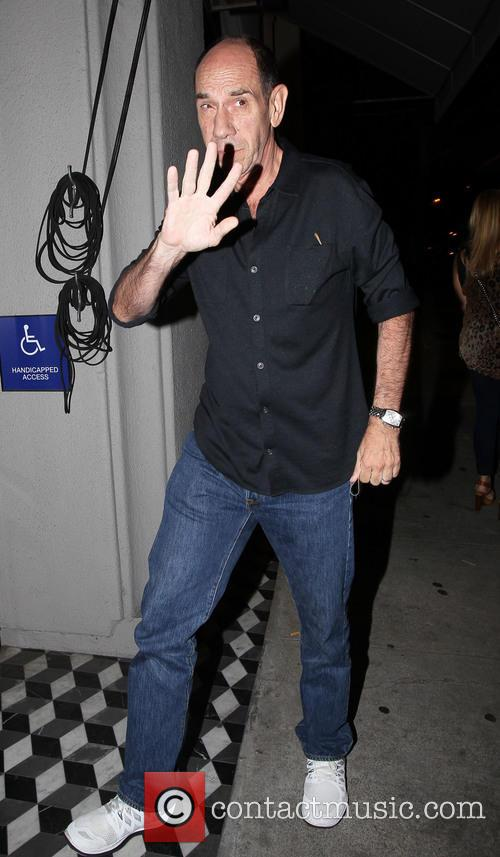 George Clooney's cousin, actor Miguel Ferrer arrives at...