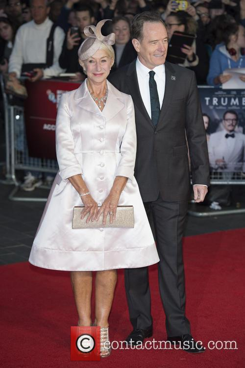Dame Helen Mirren and Bryan Cranston 2
