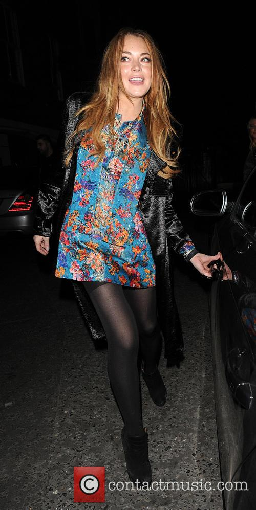 Celebrities out and about in Mayfair