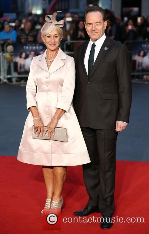 Bryan Cranston and Helen Mirren 7