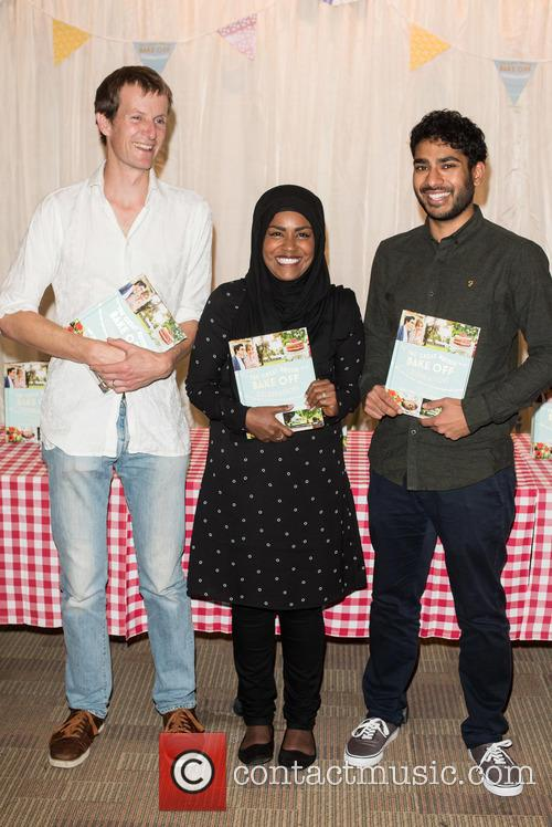 Nadiya Hussain, Tamal Ray and Ian Cumming 2