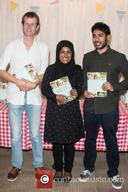 Nadiya Hussain, Tamal Ray and Ian Cumming 3