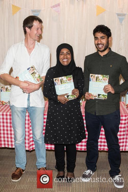 Nadiya Hussain, Tamal Ray and Ian Cumming 4
