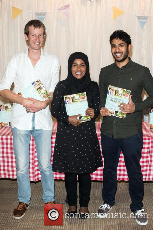 Nadiya Hussain, Tamal Ray and Ian Cumming 5