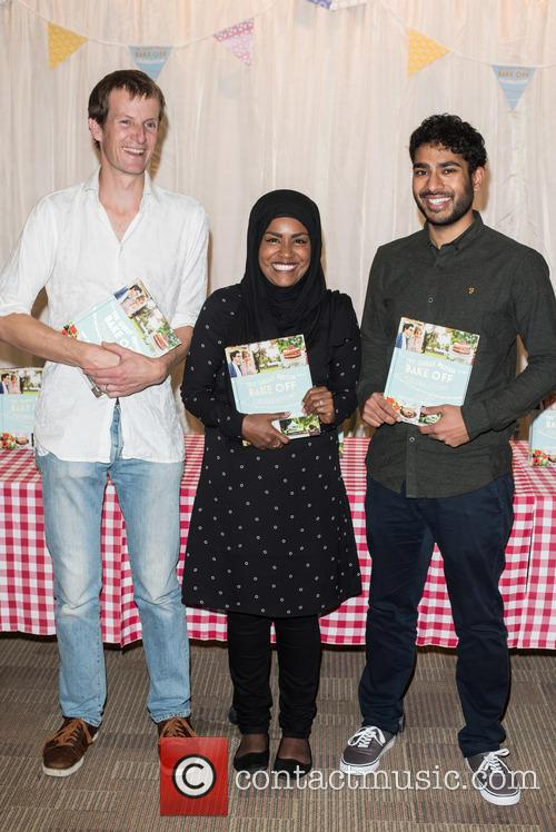 Nadiya Hussain, Tamal Ray and Ian Cumming 1