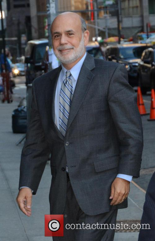 Stephen Colbert and Ben Bernanke 2