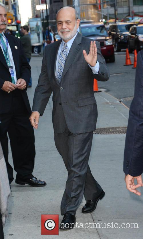 Stephen Colbert and Ben Bernanke 1