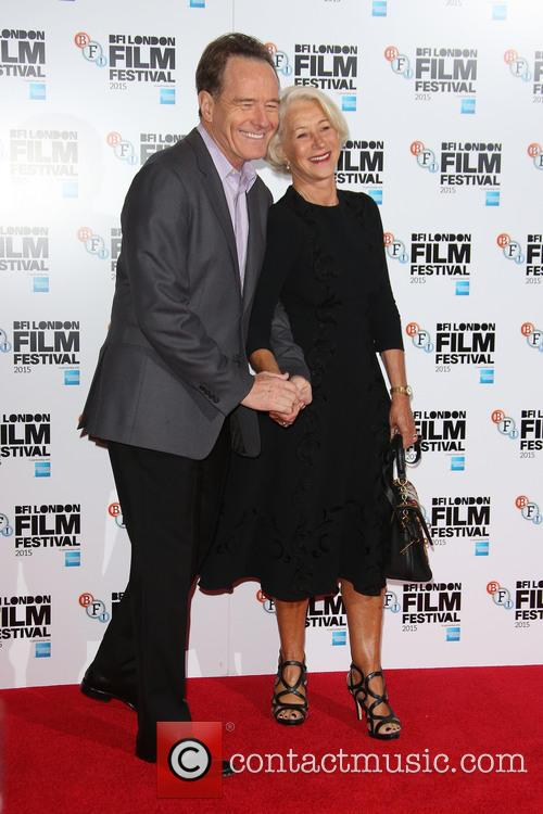 Helen Mirren and Bryan Cranston 1