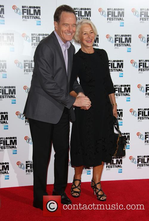 Bryan Cranston and Helen Mirren 2