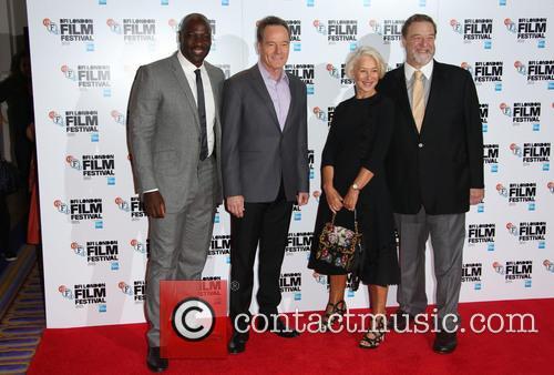 Adewale Akinnuoye-agbaje, Bryan Cranston and Helen Mirren 1