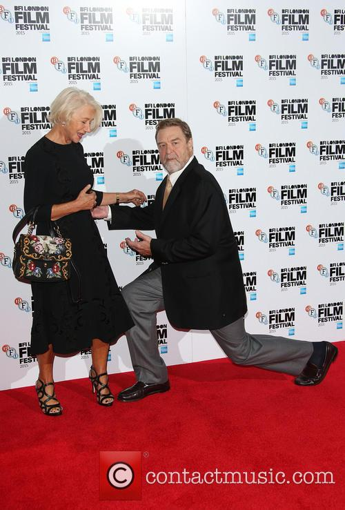 Helen Mirren and John Goodman 5