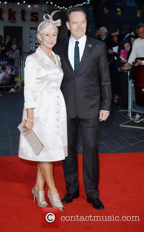 Helen Mirren and Bryan Cranston 2