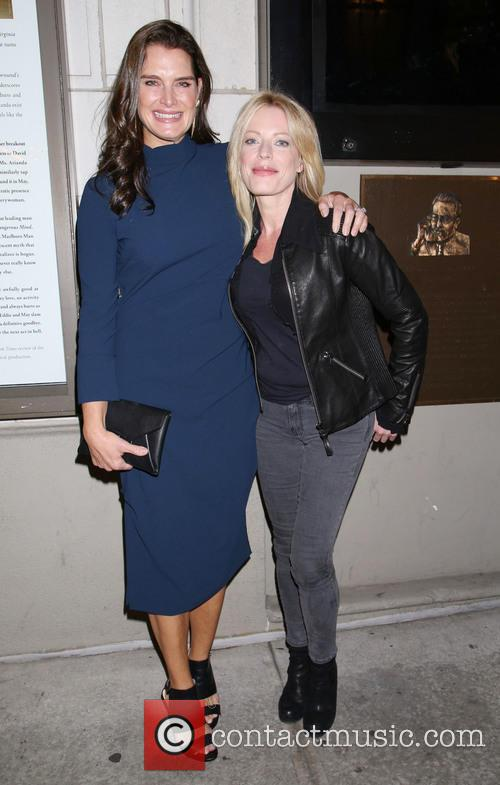 Brooke Shields and Sherie Rene Scott 1