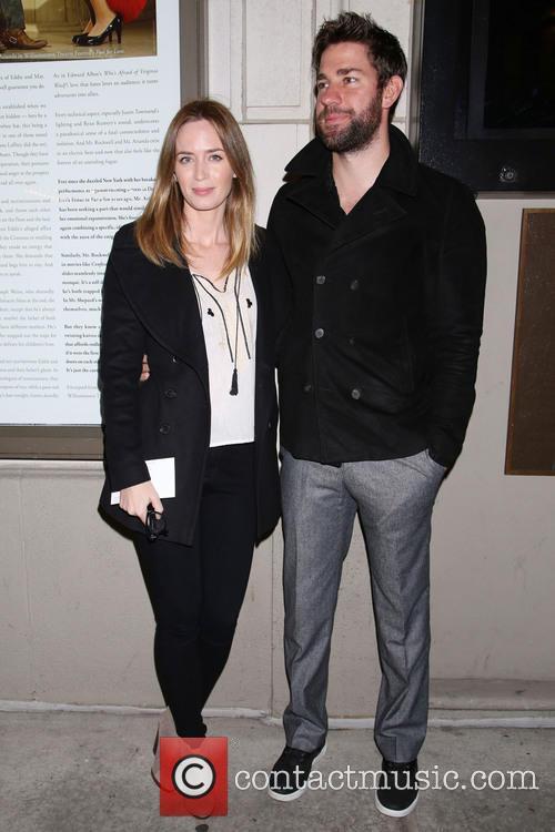 Emily Blunt and John Krasinski 4