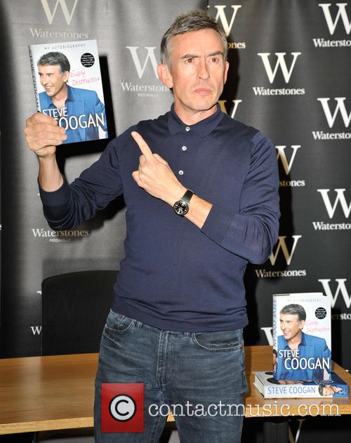 Steve Coogan 'Easily Distracted' book signing