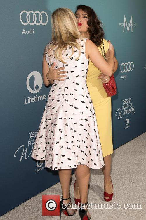 Reese Witherspoon and Salma Hayek Pinault 1