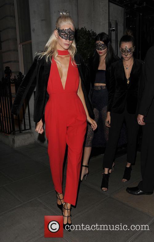 Poppy Delevingne, Kendall Jenner and Cara Delevingne 2