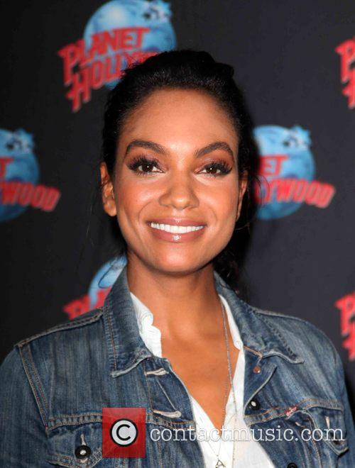 Lyndie Greenwood at Planet Hollywood Times Square