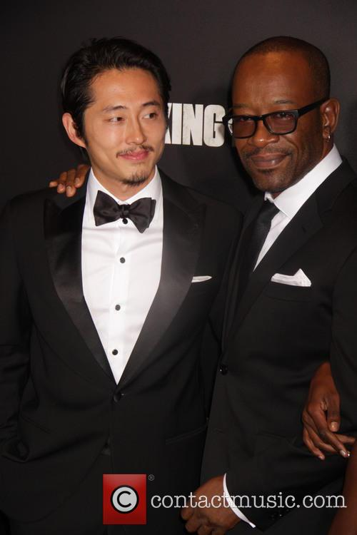 Steven Yeun and Lennie James 1