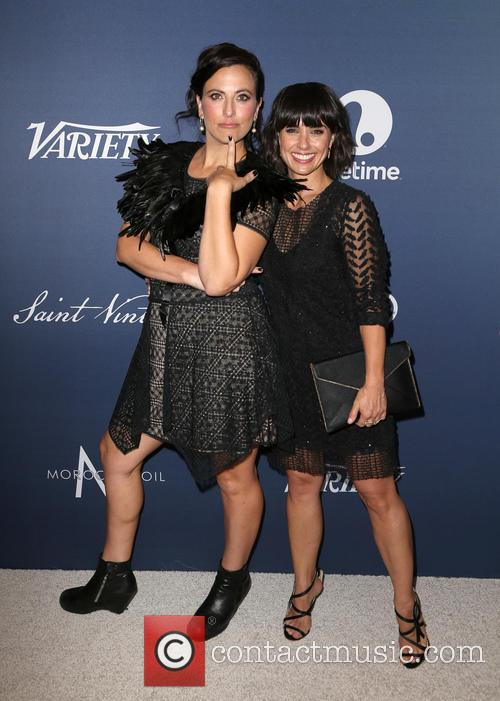 Sarah Gertrude Shapiro and Constance Zimmer 1