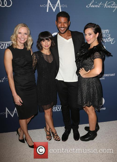 Liz Gateley, Constance Zimmer, Sarah Gertrude Shapiro and Guest 3