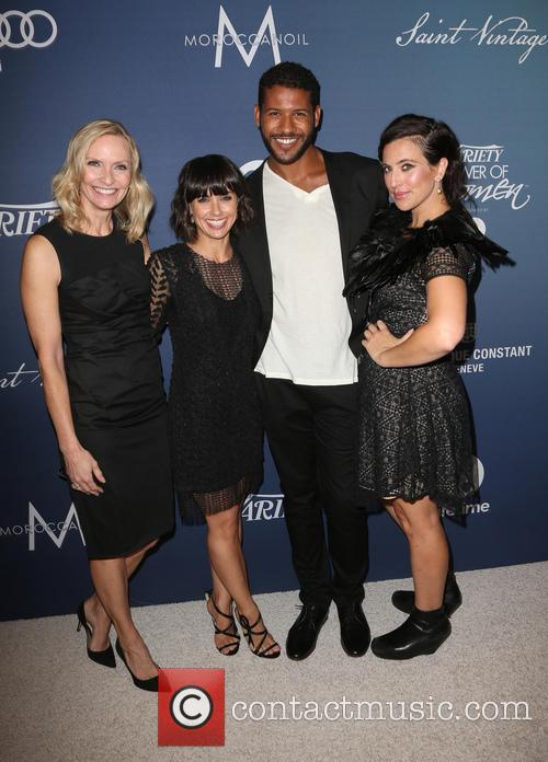Liz Gateley, Constance Zimmer, Sarah Gertrude Shapiro and Guest 4