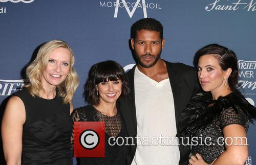 Liz Gateley, Constance Zimmer, Sarah Gertrude Shapiro and Guest 5