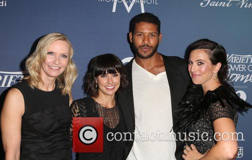 Liz Gateley, Constance Zimmer, Sarah Gertrude Shapiro and Guest 1