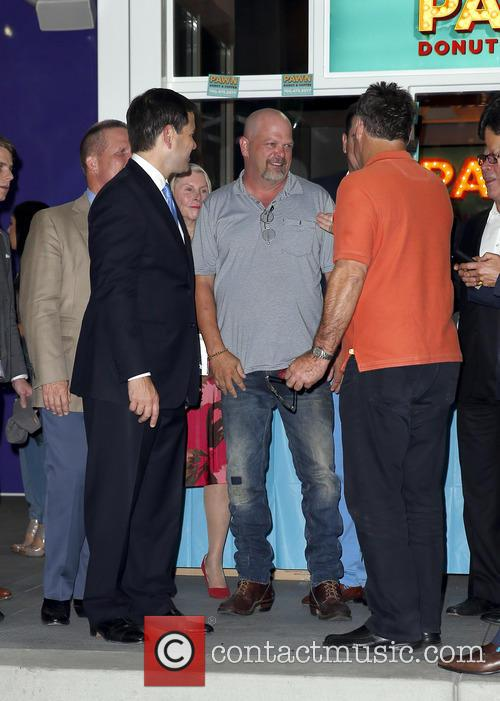 Sen. Marco Rubio and Rick Harrison 5