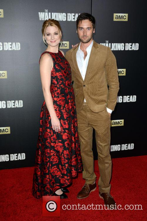 Alexandra Breckenridge and Ryan Eggold 2