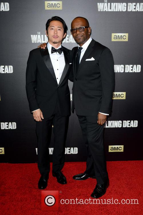 Steven Yeun and Lennie James 2