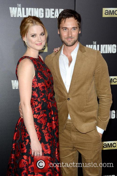 Alexandra Breckenridge and Ryan Eggold 1