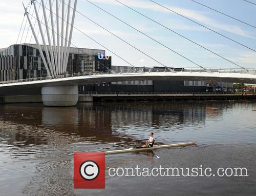 Rowers At Media City By Coronation Street Studio' 4