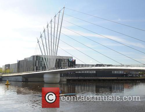 Rowers At Media City By Coronation Street Studio' 5